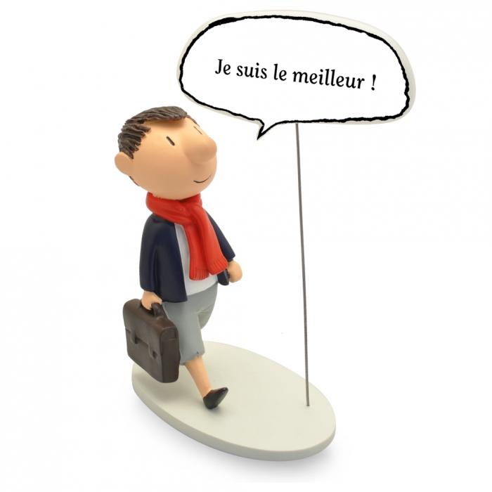 Collectible Figurine Plastoy Le Petit Nicolas, Je suis le meilleur! 00252 (2019)