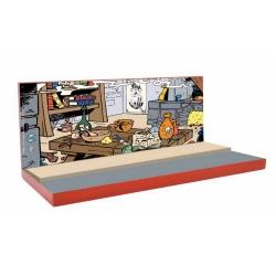 Base decorativa Pixi para la colección Origine III de Los Pitufos 6457 (2020)