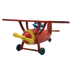 Collectible figurine Pixi The Smurfs, The Aerosmurf Plane 6460 (2020)