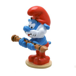 Collectible figurine Pixi The Smurfs, Papa Smurf and the flute 6463 (2020)