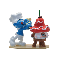 Collectible figurine Pixi The Smurfs, the Pastry Smurf 6464 (2020)