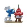 Figurine de collection Pixi Les Schtroumpfs, le Schtroumpf pâtissier 6464 (2020)