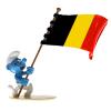 Figurine Pixi Les Schtroumpfs, le Schtroumpf porte-drapeau belge 6470 (2020)