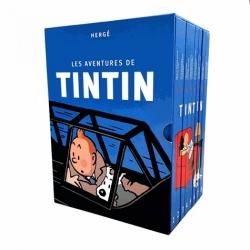 Cofre colección integral de los 24 álbumes de las aventuras de Tintín (2019)
