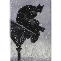 Aimant magnet décoratif Blacksad, Nightwatch (55x79mm)