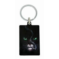 Collectible Keychain Blacksad, Somewhere Within the Shadows (40x60mm)