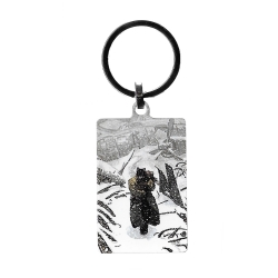 Collectible Keychain Blacksad, Artic-Nation (40x60mm)