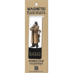 Magnetic Bookmark Blacksad, John and Weekly (25x80mm)