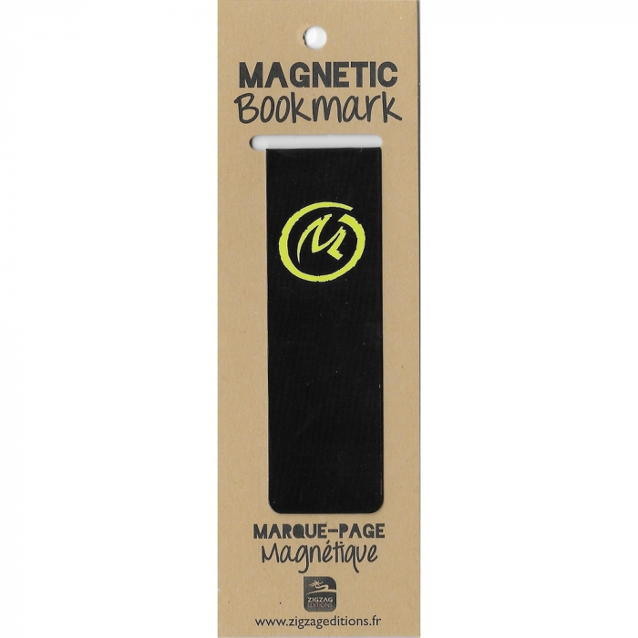 Magnetic Bookmark Blake and Mortimer, The Yellow Mark (25x80mm)