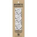 Marque-page magnétique Blake et Mortimer, Dessins en noir et blanc (25x80mm)