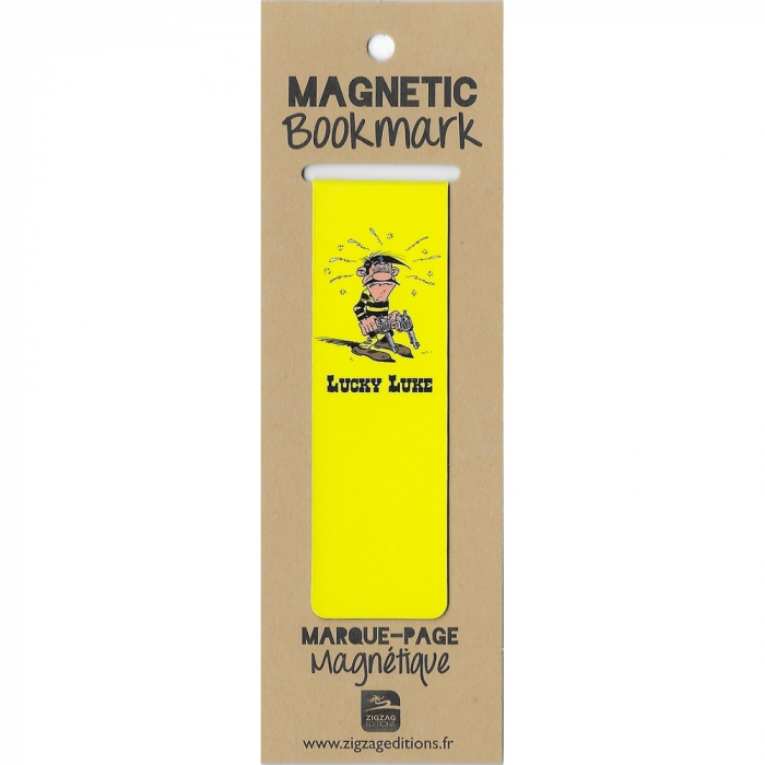 Magnetic Bookmark Lucky Luke, Joe Dalton (25x80mm)