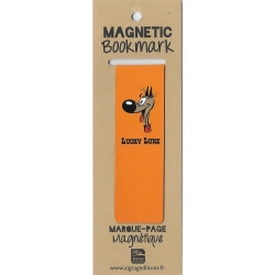 Magnetic Bookmark Lucky Luke, Rantanplan (25x80mm)