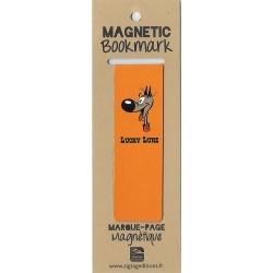 Marcapáginas magnético Lucky Luke, Rantanplan (25x80mm)