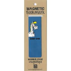Marque-page magnétique Lucky Luke, Jolly Jumper (25x80mm)