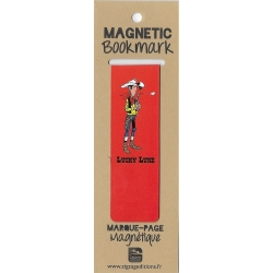 Marcapáginas magnético Lucky Luke listo para disparar (25x80mm)