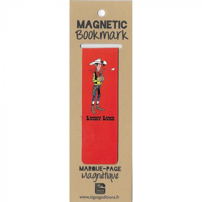 Marque-page magnétique Lucky Luke prêt à tirer (25x80mm)