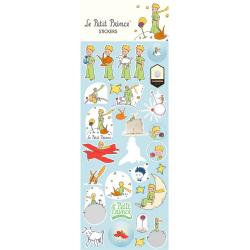 Planche de stickers autocollants Le Petit Prince V1 (31x11cm)