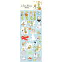 Board of stickers The Little Prince V1 (31x11cm)
