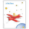 Poster offset The Little Prince in his plane (18x24cm)