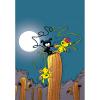 Imán decorativo Marsupilami, A la luz de la luna (55x79mm)