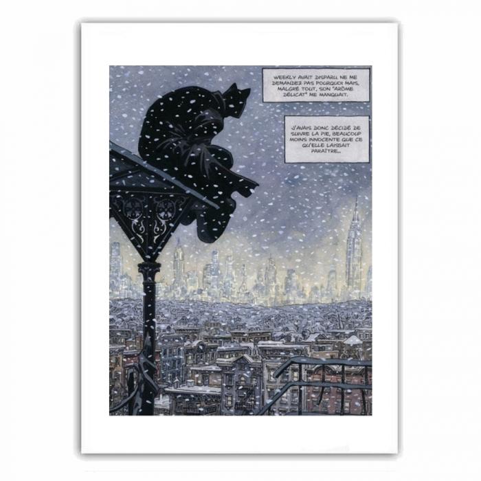 Poster offset Blacksad, Nightwatch (28x35,5cm)