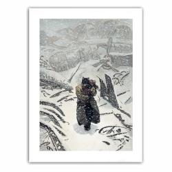 Poster affiche offset Blacksad, Artic-Nation T2 (28x35,5cm)