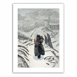 Póster cartel offset Blacksad, Artic-Nation T2 (28x35,5cm)