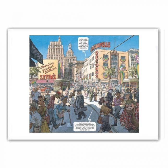 Poster offset Blacksad, City Talk (35,5x28cm)