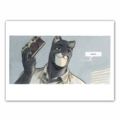 Poster offset Blacksad, Photographer (35,5x28cm)