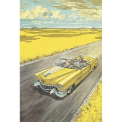 Carte postale de Blacksad, Amarillo (10x15cm)