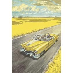 Postcard Blacksad, Amarillo (10x15cm)