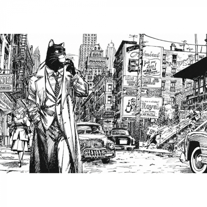 Postcard Blacksad, New York (10x15cm)