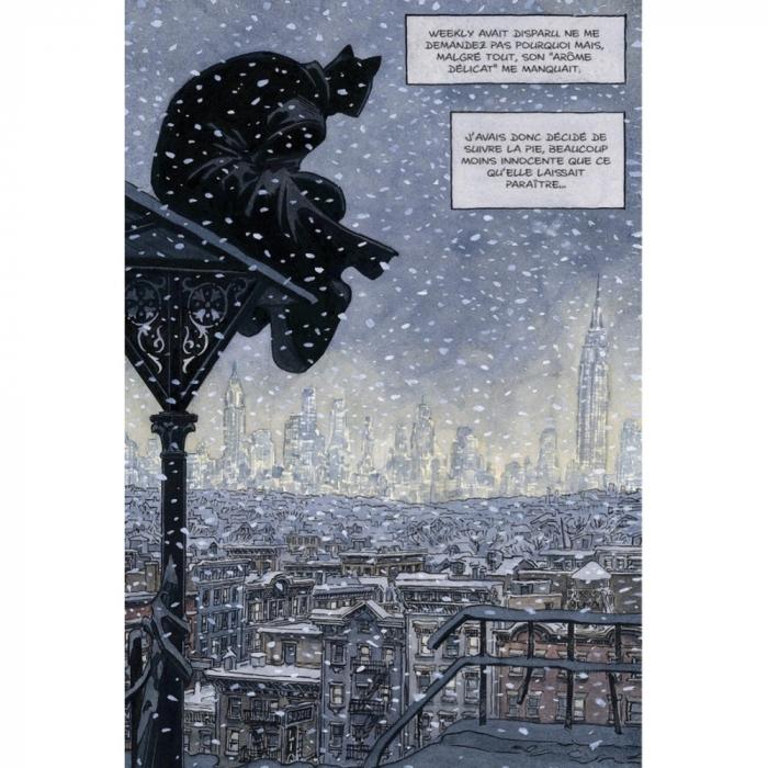 Postcard Blacksad, Nightwatch (10x15cm)