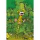 Postal Marsupilami, saltando de alegría (10x15cm)