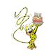 Postal Marsupilami, el pastel de cumpleaños (10x15cm)