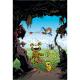 Postcard Marsupilami, mountain adventure (10x15cm)