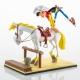 Figura de colección LMZ Lucky Luke y Jolly Jumper 17cm (2019)