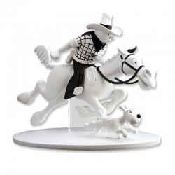 Figura de colección Tintín en América Cowboy Hors-Série N°2 42169 (2014)