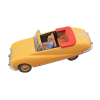 Blake and Mortimer Miniature Car Eligor, the Austin Atlantic Nº42 (1/43)