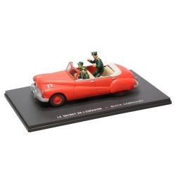 Coche Blake y Mortimer Eligor Miniatura, el Convertible Buick rojo Nº02 (1/43)