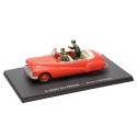 Voiture Blake et Mortimer Eligor Miniature, le Buick cabriolet rouge Nº02 (1/43)