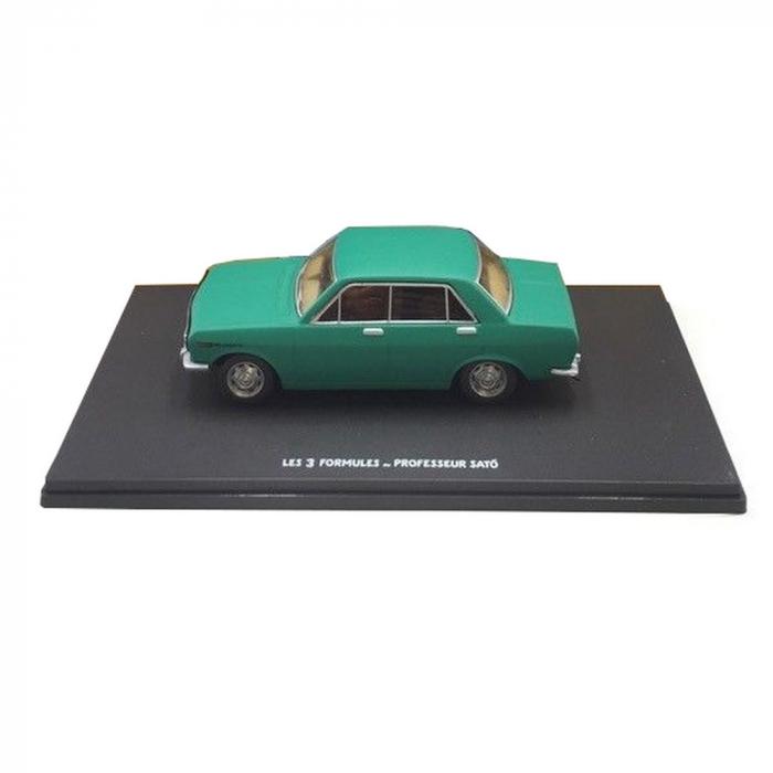 Blake and Mortimer Miniature Car Eligor, the Datsun 510 Nº41 (1/43)