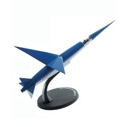Avión Blake y Mortimer Eligor Miniatura, el Espadon SX-1 Nº01 (1/43)