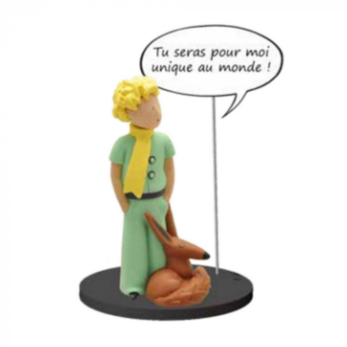 Collectible figure Plastoy The Little Prince with the fox 66609 (2016)