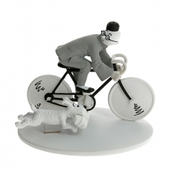Collection figurine Tintin Bicycle The Blue Lotus Hors-Série N°3 42170 (2014)