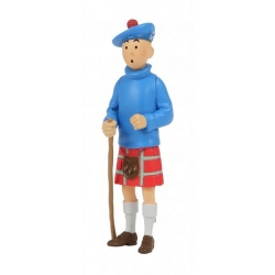 Collectible figurine Tintin in a kilt 8cm Moulinsart 42509 (2020)