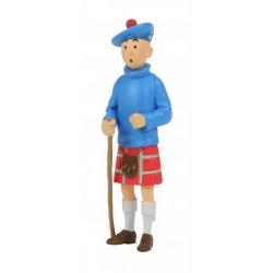 Figura de colección Tintín llevando un kilt escocés 8cm Moulinsart 42509 (2020)