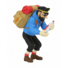 Figurine de collection Tintin Haddock bouteille vide 8cm Moulinsart 42515 (2020)