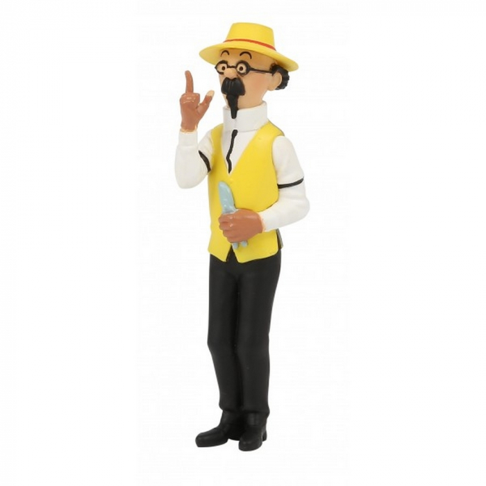 Collectible figurine Tintin, Calculus The Gardener 8cm Moulinsart 42516 (2020)