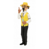 Figurine de collection Tintin Tournesol en jardinier 8cm Moulinsart 42516 (2020)